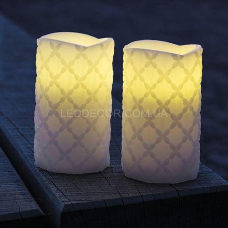 Светодиодные свечи Claudia white
