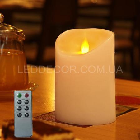 Свеча светодиодная с имитацией пламени Dancing Flame 125