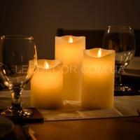 Свечи светодиодные с имитацией пламени D75