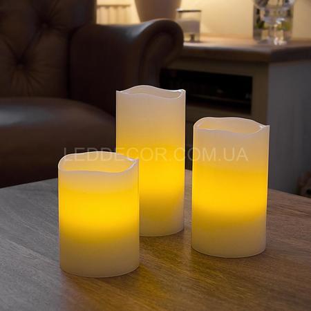 Cвечи светодиодные Vanilla с таймером