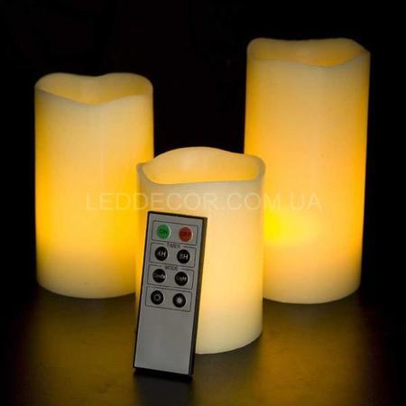 Свечи светодиодные с дистанционным управлением