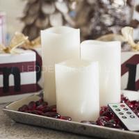 Свечи светодиодные с ДУ белые