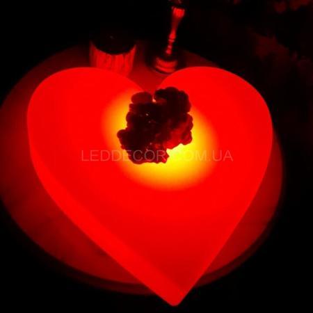 Беспроводной светильник светодиодный Heart с пультом