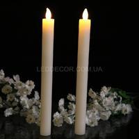 Свечи светодиодные тонкие парафиновые W2025