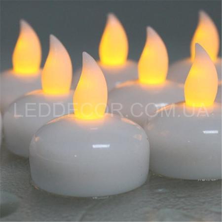 """Свечи """"чайные"""" светодиодные плавающие набор"""