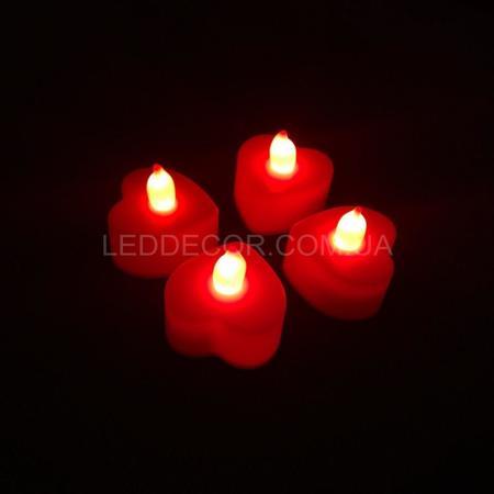 Свечи светодиодные Red Heart набор