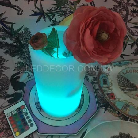 Беспроводной светодиодный светильник-ваза CL1120 с пультом